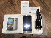 HTC ONE M8 PHONE AND ALL ACCESSORIES IN EXCELLENT CONDITION - SELLING DUE TO UPGRADE - UNLOCKED!