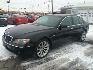 BMW 750I 2007 AUTOMATIQUE FULL AC MAGS CUIR TOIT NAVIGATION