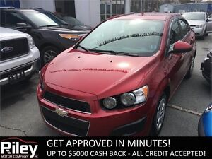 2014 Chevrolet Sonic LS STARTING AT $91.41 BI-WEEKLY