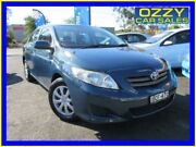2007 Toyota Corolla ZRE152R Ascent Blue 4 Speed Automatic Sedan Minto Campbelltown Area Preview