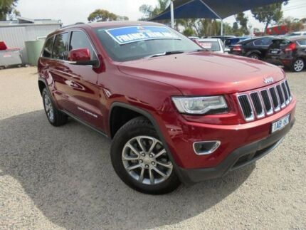 2013 Jeep Grand Cherokee Red Sports Automatic Wagon