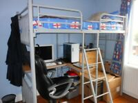 loft high bed sleeper single
