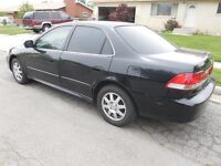 2002 Honda Accord Sedan EX-L - FULLY LOADED+ LOW KMS +ETESTED
