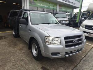 2007 Ford Ranger PJ 07 Upgrade XL (4x2) Silver 5 Speed Manual Cab Chassis Slacks Creek Logan Area Preview