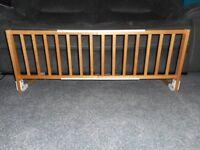 Tomy Wooden fold down bedrail