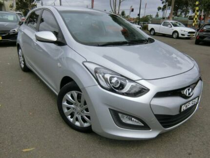 2013 Hyundai i30 GD Active Silver 6 Speed Sports Automatic Hatchback Condell Park Bankstown Area Preview