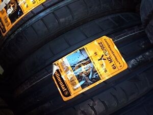 Four brand new 235/35/R19 Continental ContiSportContact tires!!!