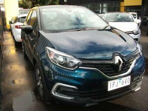 2019 Renault Captur J87 Zen EDC Blue 6 Speed Sports Automatic Dual Clutch Hatchback Seaford Frankston Area Preview