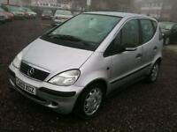 2003 MERCEDES BENZ A CLASS A140 Classic SE 12 MTS MOT and WARRANTY AVAIL