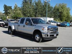 2015 FORD F-350 XLT CREW CAB LONG BOX DUALLY 4X4 1 TON