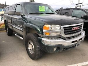 2003 GMC Sierra 2500HD SLE 4x4 Regular Cab 8 ft. box 133 in. WB