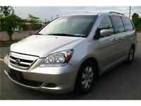 2007  HONDA ODYSSEY EX WITH 8 passagers,145000KM