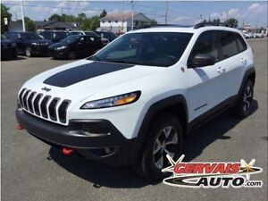 Jeep Cherokee TRAILHAWK 4x4 V6 GPS Cuir Toit Panoramique MAGS 20
