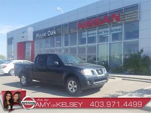 2013 Nissan Frontier Crew Cab SV 4x4 w/ Tow Package