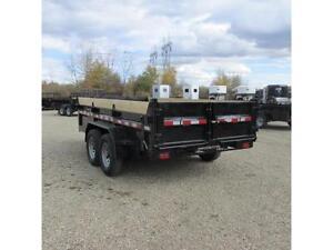 NEW 2016 Mirage 7X14 Utility Dump Trailer with Scissor Hoist Edmonton Edmonton Area image 4