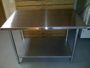 STAINLESS STEEL SALE Tables/Sinks/Shelves/Faucets**GREAT DEALS**