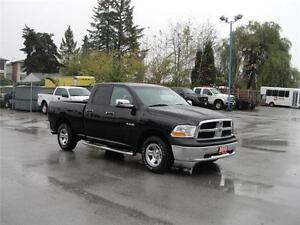2010 DODGE RAM 1500 ST QUAD CAB SHORT BOX 4X4