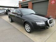 2005 Holden Crewman VZ Cross 6 Black 4 Speed Automatic Crew Cab Utility Holden Hill Tea Tree Gully Area Preview