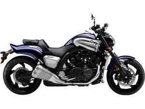 YAMAHA VMAX DARK PURPLISH BLUE METALLIC 2016