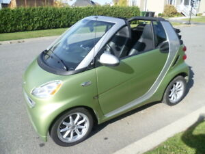 2011 Smart Fortwo Cuir Cabriolet