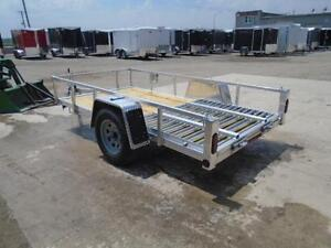 Low priced aluminum trailers - 2017 Qaulity 5 x 10 utility trail London Ontario image 6
