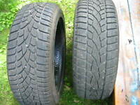 Like NEw Pair of Dunlop Tires 195 / 55 R 16
