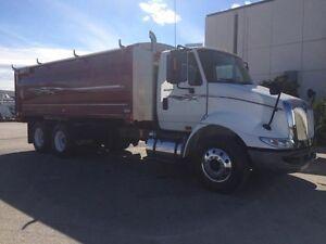2011 International 8600 SBA 6x4, Used Grain Truck