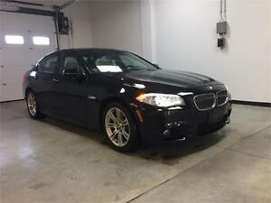 2013 BMW 528i xDrive, M-sports, Navi, 360 camera, 1 owner.