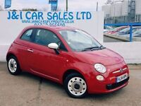 FIAT 500 1.2 COLOUR THERAPY 3d 69 BHP A LOW PRICE 3DR HATCH (red) 2014