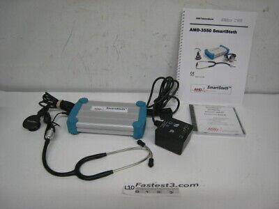 Welch Allyn Amd 3550 Telemedicine Smartsteth Stethoscope Digital Elec. Auscultat