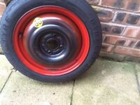 15 inch space saver spare wheel