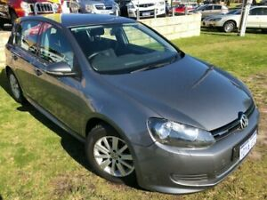 2012 Volkswagen Golf VI MY12.5 BlueMOTION Grey 5 Speed Manual Hatchback Wangara Wanneroo Area Preview