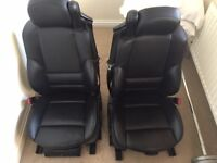 BMW 3 Series E46 M3 Convertible Black Leather Heated Seats Interior Complete