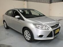 2012 Ford Focus LW MK2 Ambiente Silver 6 Speed Automatic Sedan Gateshead Lake Macquarie Area Preview