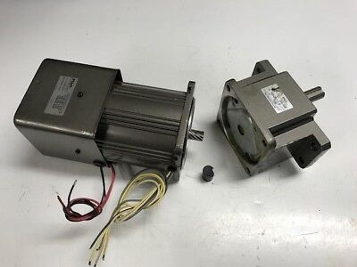 FUJI ELECTRIC Motor and Gear Head MGM2990V-2A and MGH29010-B