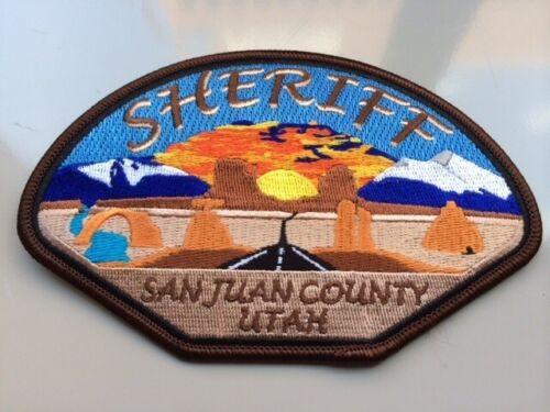 Scenic San Juan County Sheriff State Utah UT