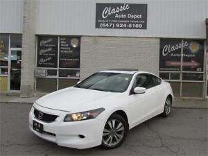 2009 HONDA ACCORD EX-L *6SPD,LEATHER,SUNROOF,NO ACCIDENTS!!!*