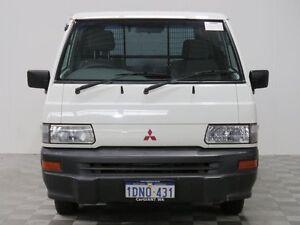 2010 Mitsubishi Express SJ MY10 SWB White 5 Speed Manual Van Jandakot Cockburn Area Preview