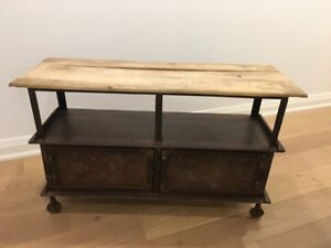 Distressed Console Table/Storage piece
