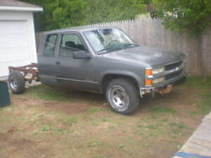 1997 Chev 1/2 Ton Extended Cab Parts Truck