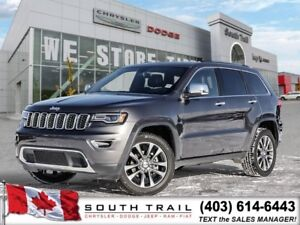 '18 Jeep Grand Cherokee Limited 4x4 - Remote Start - $275 BW