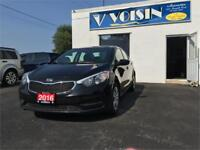 2016 Kia Forte LX   BLUETOOTH/SAT   A/C   LOW KM'S   NO ACCIDENT Kitchener / Waterloo Kitchener Area Preview