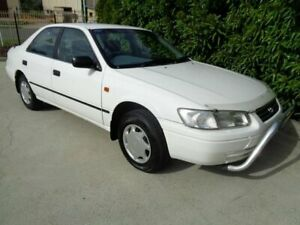 1998 Toyota Camry SXV20R CSi White 4 Speed Automatic Sedan