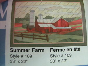 Woodscape Art Kits  Summer Farm     33x22''