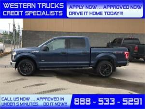 2015 Ford F-150 4x4 EcoBoost Tow Package 5 Min Approval $223 B/W