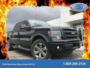 2014 Ford F-150 FX4, Leather, Moonroof, Nav, 4x4!!!
