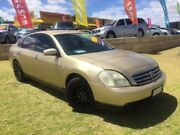 2004 Nissan Maxima J31 ST-L Gold 4 Speed Automatic Sedan Wangara Wanneroo Area Preview