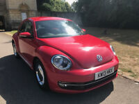 VOLKSWAGEN BEETLE 2.0TDI DESIGN DSG, NAVIGATION, FSH, LONG MOT, PARKING SENSORS, FENDER SOUND SYSTEM