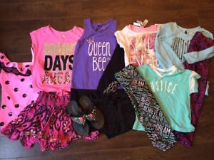 Girls Justice Spring/Summer Clothing Lot Size 8