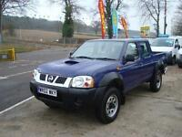 2002 NISSAN NAVARA 2.5 Di Double Cab 4dr Pick Up NO VAT
